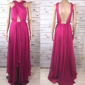 NWOT Nasty Gal  Backless Maxi Full Length Dress